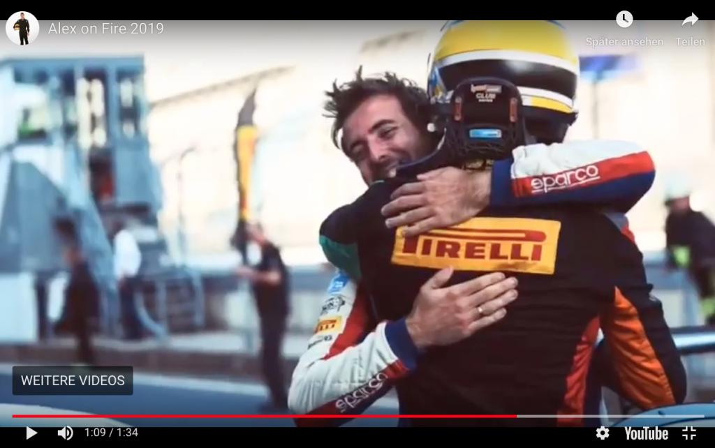 Screenshot Alex on Fire Video 2019